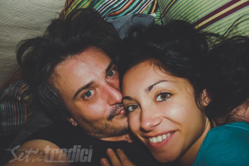 fotografia, galleria immagini, foto ricordo, strega, duca, abbraccio, camera da letto, sempre insieme