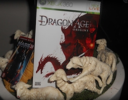 dragon age, natale, decorazioni, mass effect 3