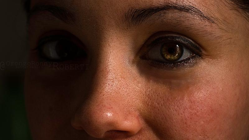 fotografia, strega, ritratto, primo piano, occhi