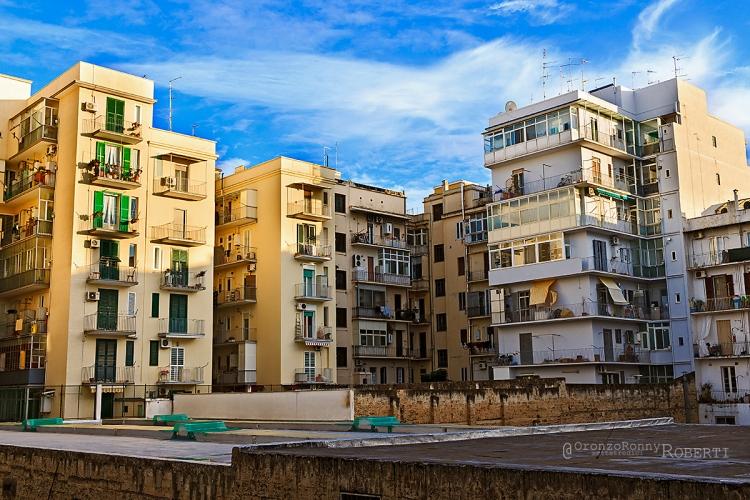 paesaggi urbani, fotografia, bari, madonella, edifici