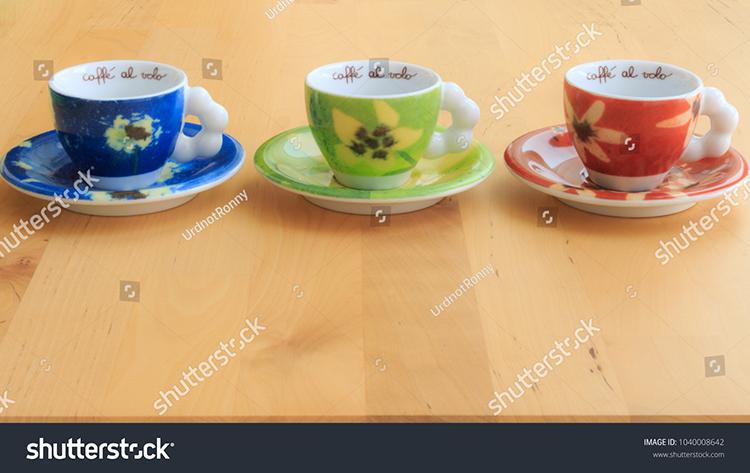 microstock, shutterstock, tazzine per caffè, fotografia