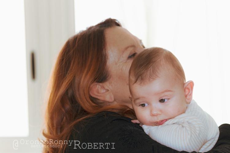 fotografia, ritratto, nonne, nipoti, arj, nonna nietta, in braccio